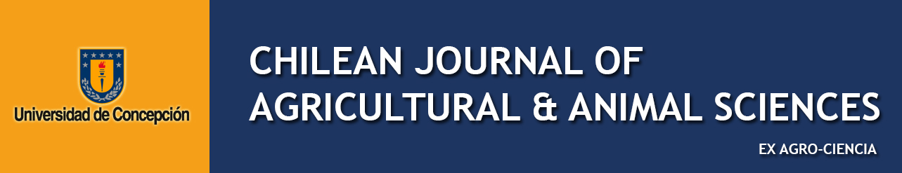 Chilean Journal of Agricultural & Animal Science